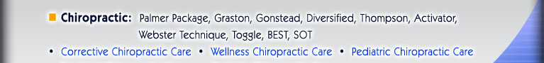 Juergens Chiropractic, Arlington Heights, IL Chiropractic: Pregnancy; Pediatrics; Kids; PAIN; Auto Accident; Car injuries; car injury treatment; Palmer Package, Gonstead, Graston, Diversified, Thompson, Webster Technique, Activator, BEST, Toggle, SOT; Corrective Chiropractic Care; Wellness Chiropractic Care; Pediatric Chiropractic Care; Pre-Natal Chiropractic Care; Geriatric Chiropractic Care; Acupuncture; Nutrition and Supplementation; Physical Therapy: Electrical Muscle Stimulation; Ultrasound; Traction; Ice Therapy; Heat Therapy; Buffalo Grove, IL; Wheeling, IL; Prospect Heights, IL; Mount Prospect, IL; Mt. Prospect, IL; Rolling Meadows, IL